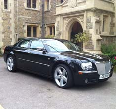 Black Limousine Chrysler 300c, limo hire in Bristol, Bath, Avon and the South West