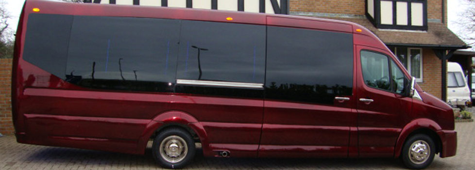 Party Bus Limousines for hire in Bristol, Bath, Avon and the South West